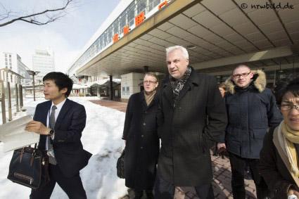 Japanreise von NRW-Wirtschaftsminister Garrelt Duin