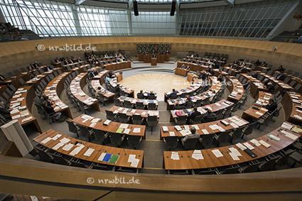 Plenum, Landtag NRW