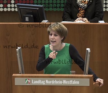 Verena Schaeffer, Landtag NRW