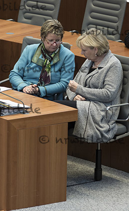 Sylvia Loehrmann, Hannelore Kraft, Landtag NRW