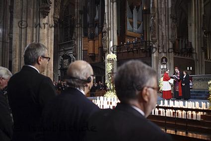 Trauerfeier im Kölner Dom