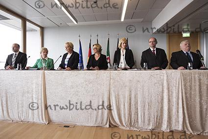 Umbildung NRW-Kabinett