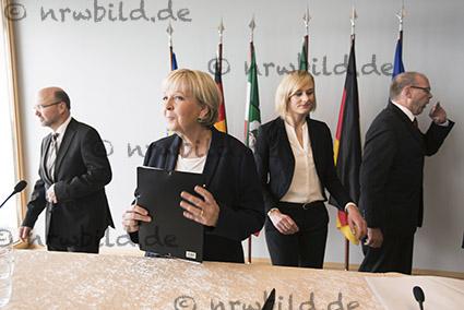 Neue Mitglieder im Kabinett Kraft