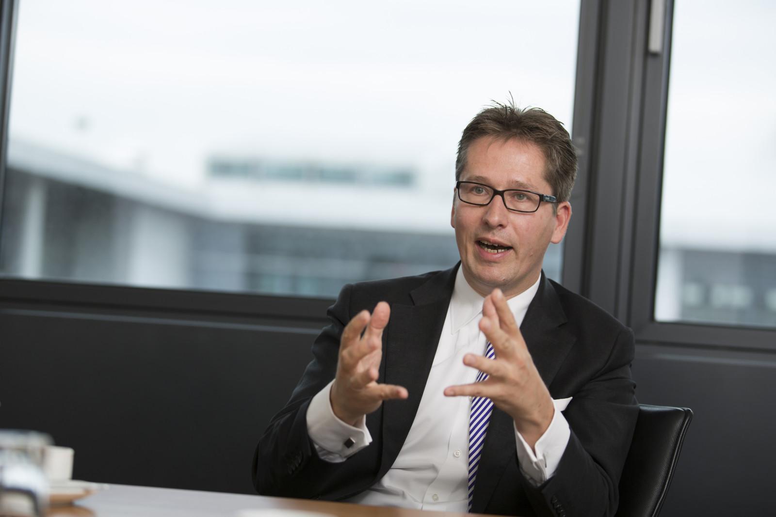Frank Strauss, Vorstandsvorsitzender Postbank