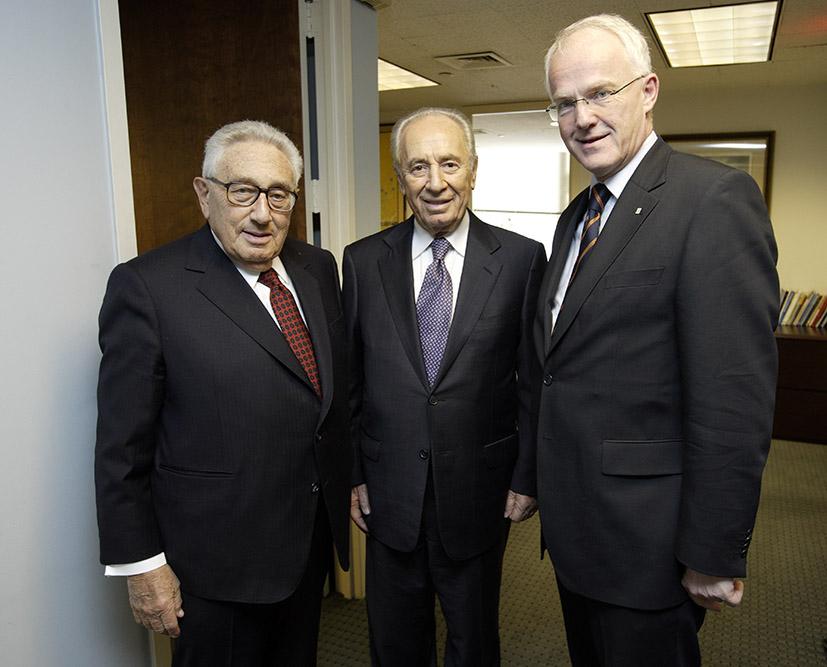 Kissinger, Peres, Rüttgers