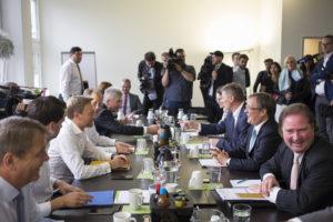 Koalitionsgespräche zwischen CDU und FDP